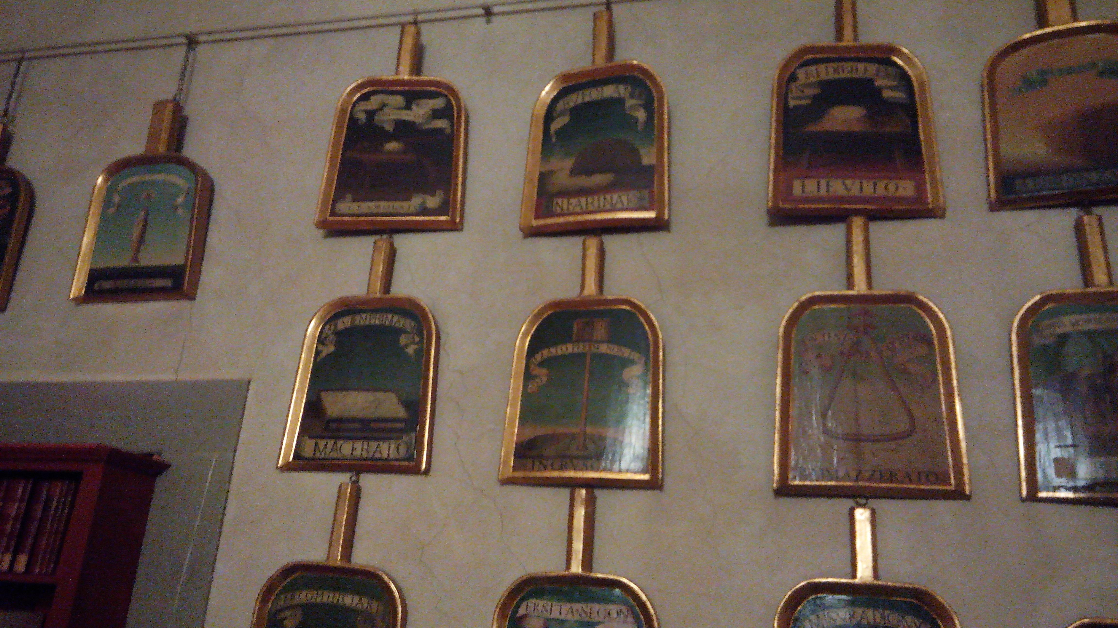 Sala delle Pale - fondatori